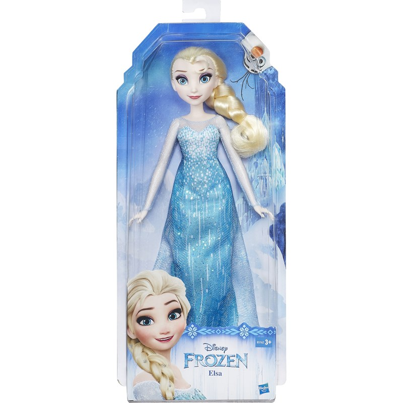 Läs mer om Disney FrozenClassic Fashion Doll, Elsa