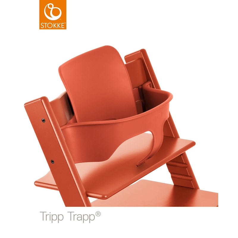 StokkeTripp Trapp Baby Set Lava Orange