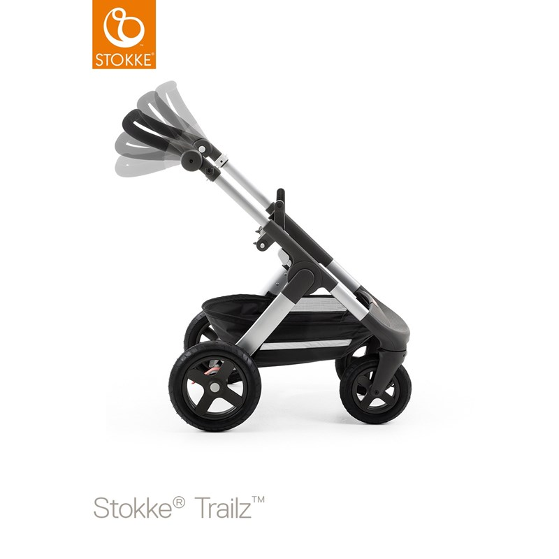 Stokke Trailz Chassis With Terrain Wheels One Size