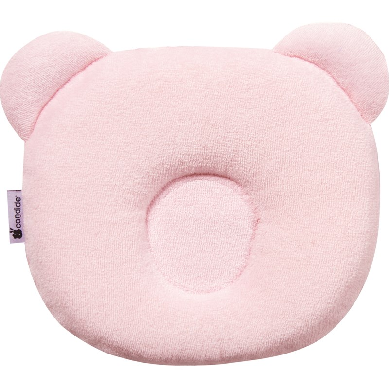 Candide Panda Baby Pillow Pink One Size