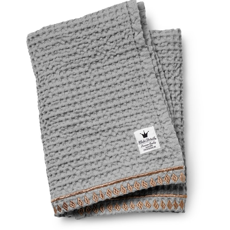 Elodie Details Waffle Blanket Gilded Grey One Size