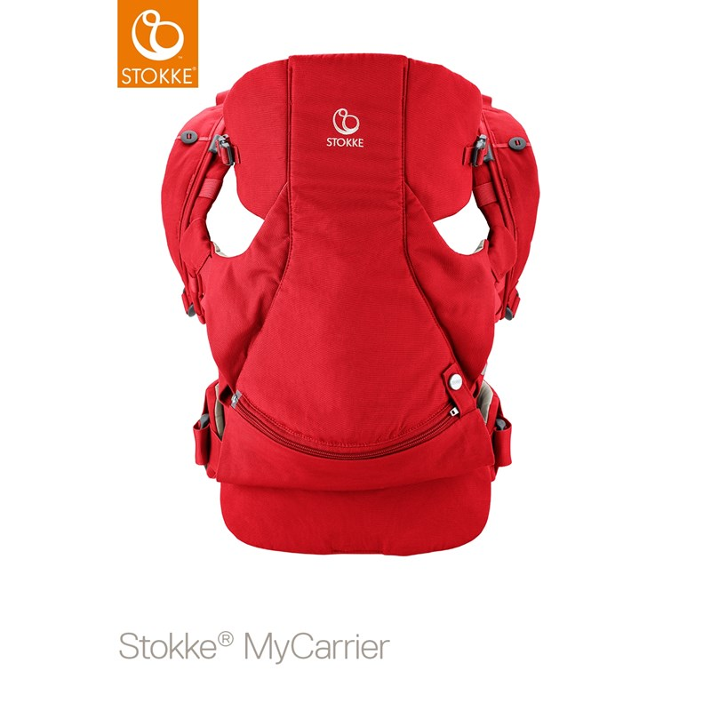StokkeMyCarrier Front And Back Carrier Red