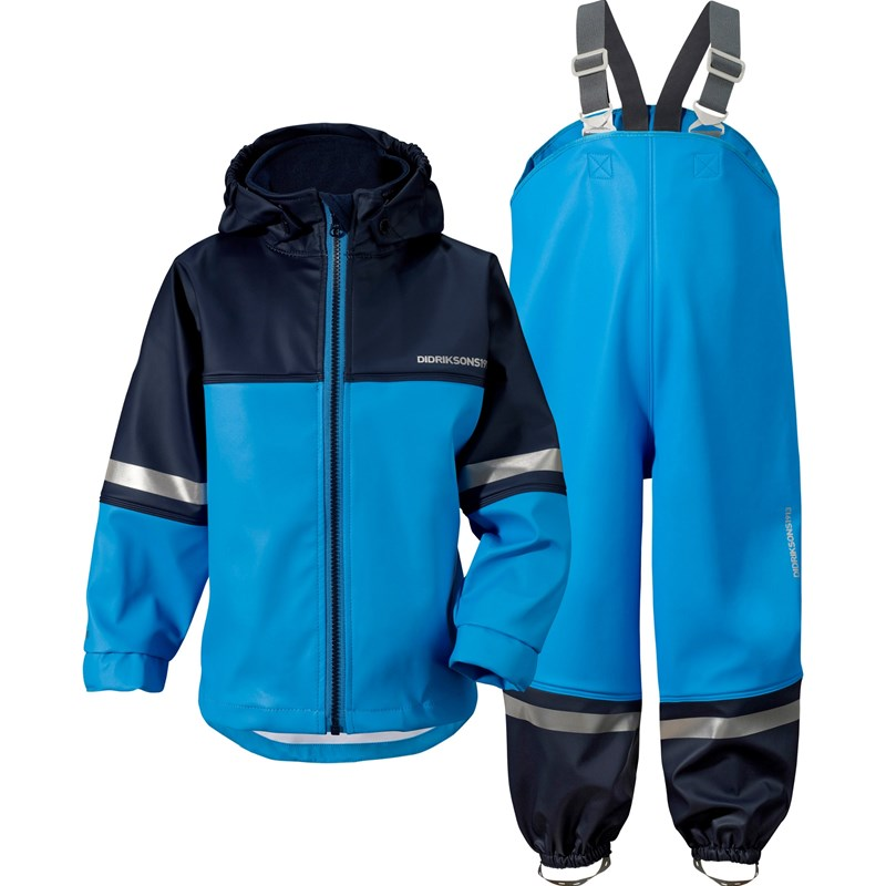 Läs mer om DidriksonsWaterman Kids Set Sharp Blue80 cm (9-12 mån)
