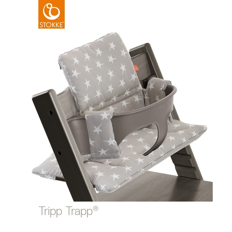 Läs mer om StokkeTripp Trapp Cushion Grey Star
