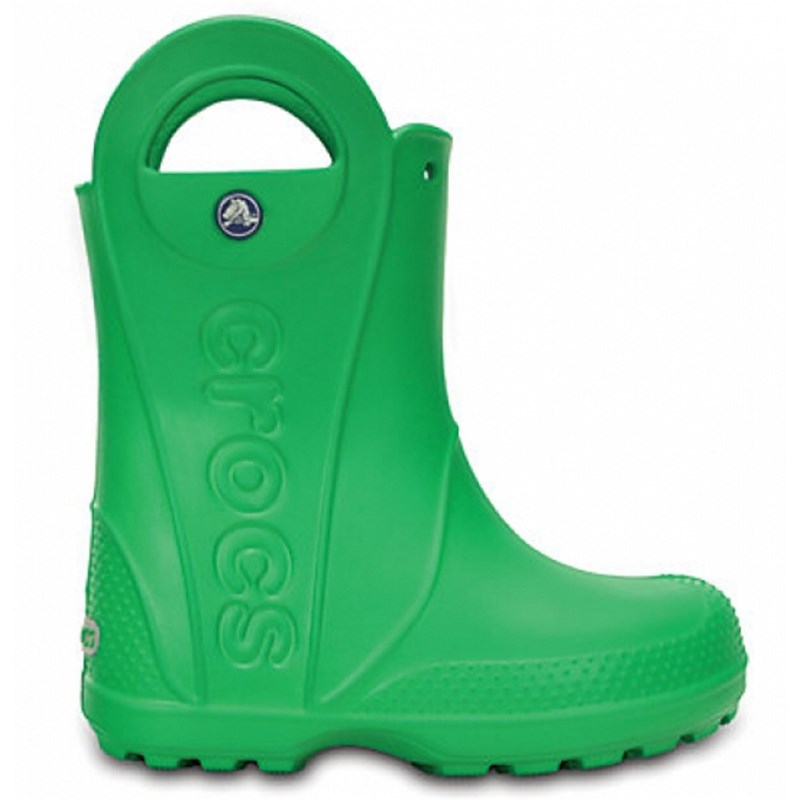 Läs mer om CrocsHandle It Rain Boot Kids Grass GreenC10 (EU 27-28)