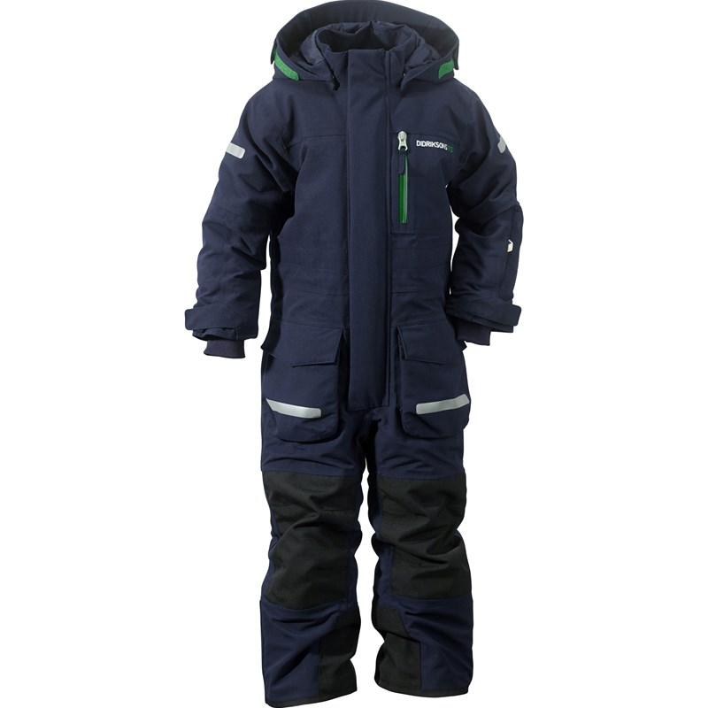 DidriksonsLopme Kids Coverall Navy80 cm