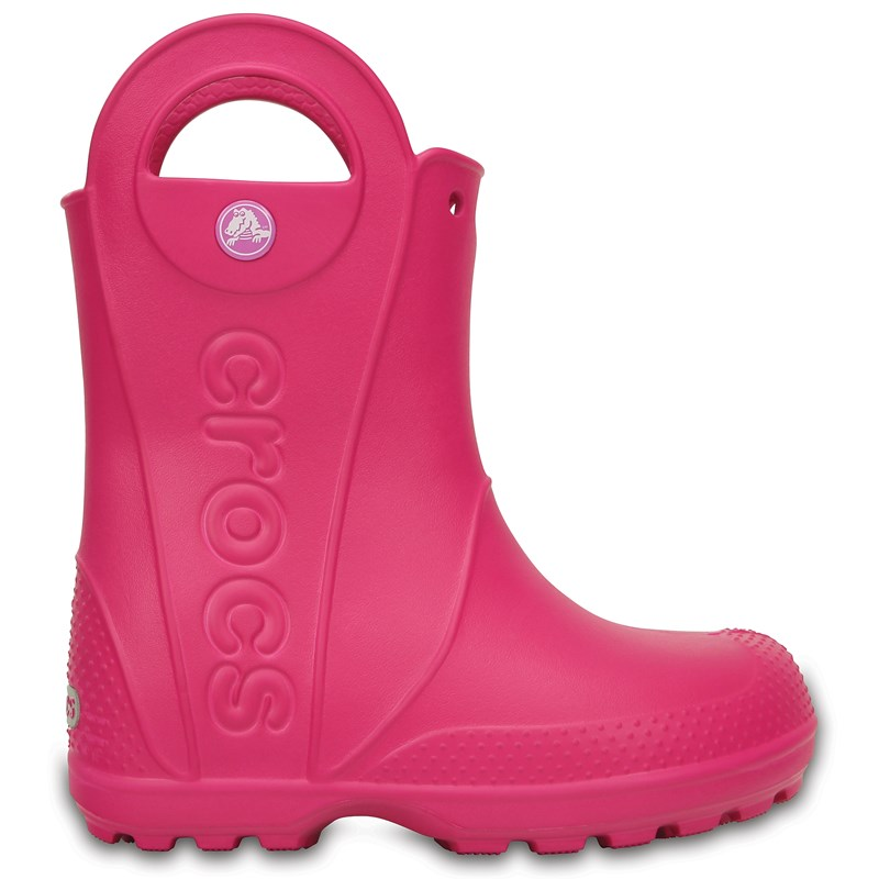 Läs mer om CrocsHandle It Rain Boot Kids Candy PinkC10 (EU 27-28)