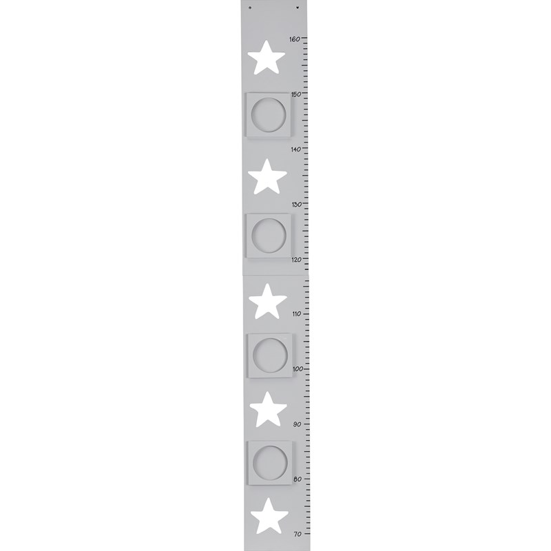 Kids Concept Height Chart Star Grey One Size