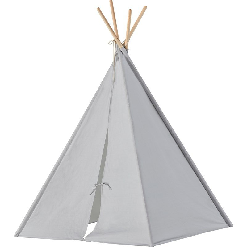 Kids Concept Tipi Tent Grey One Size