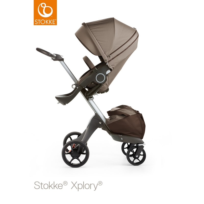 StokkeXplory V5 Brown With Black Wheels