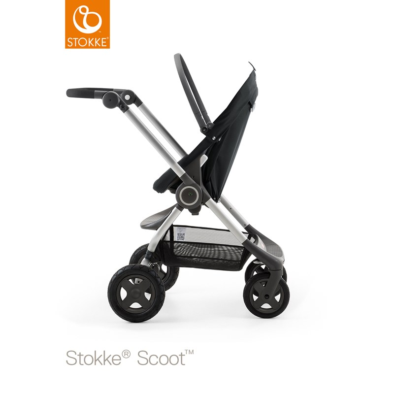 StokkeScoot Chassis Black
