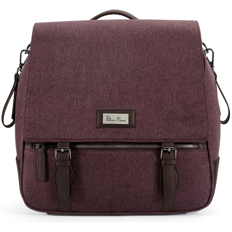 Silver Cross Wave Claret Changing Bag One Size