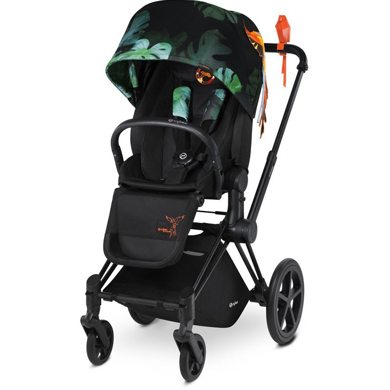 Cybex Sittdel Priam Lux Birds of Paradise Lux Seat Birds of Paradise