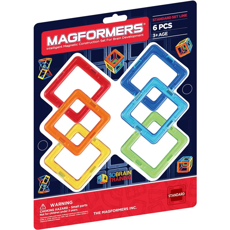 Magformers Grundset 6 bitar One Size