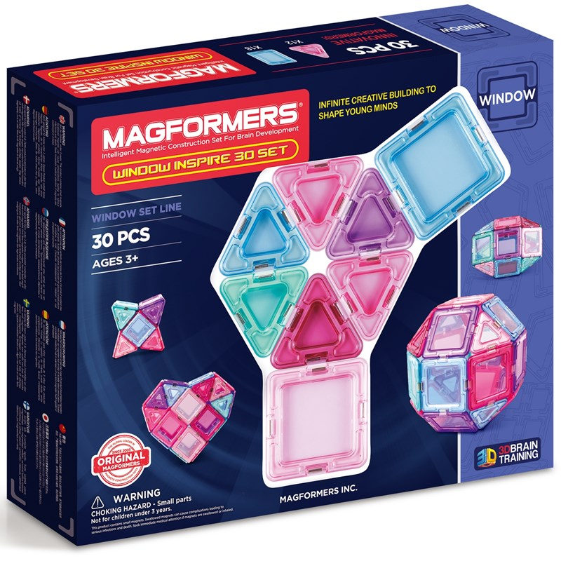 Magformers Grundset Pastell 30 bitar One Size