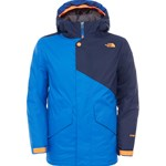 The North Face Blue Calisto Insulated Ski Jacket