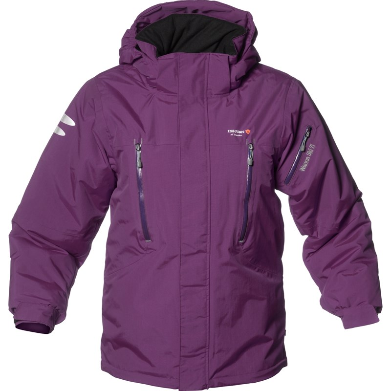 Läs mer om Isbjörn Of SwedenPurple Helicopter Winter Ski Jacket98-104 (2-4 years)