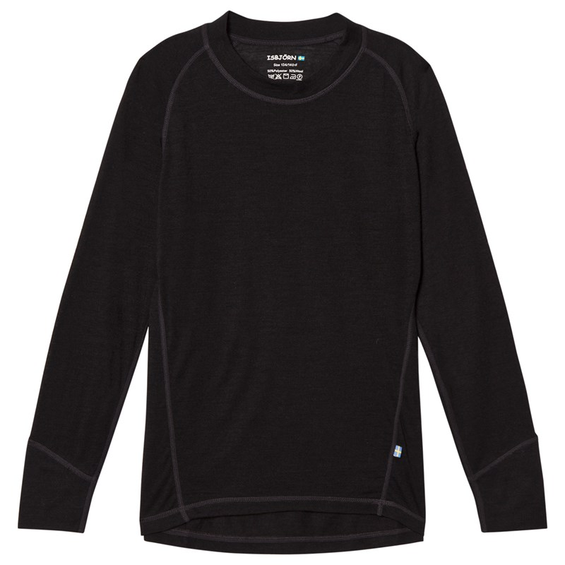 Läs mer om Isbjörn Of SwedenHusky Sweater Jr Black134/140 cm