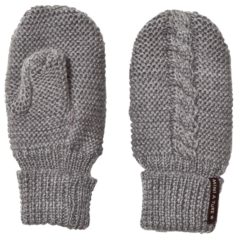 Läs mer om Mini A TureCelin, BM Gloves grey melange