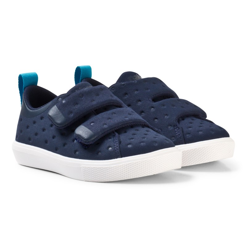 Läs mer om NativeNavy Monaco Rubber Velcro Trainers22 (UK 5)