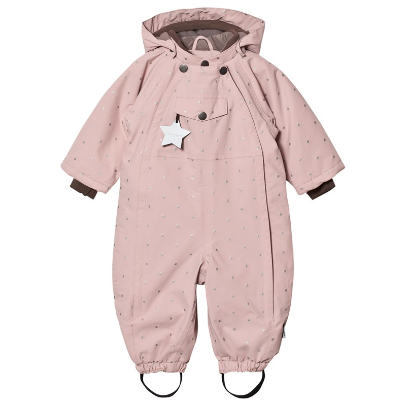 Läs mer om Mini A TureWisti, M Snowsuit Rose Smoke6m/68cm
