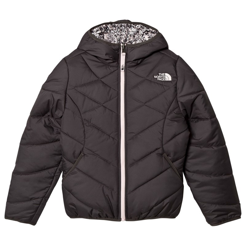 Läs mer om The North FaceGrey and Patterned Reversible Perrito JacketXS (6 years)