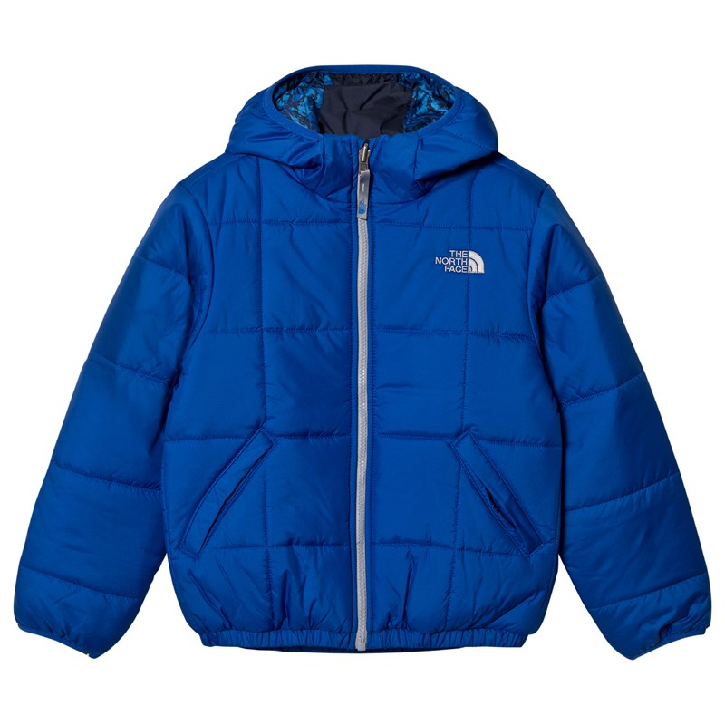Läs mer om The North FaceBright Blue Reversible Perrito JacketS (7-8 years)