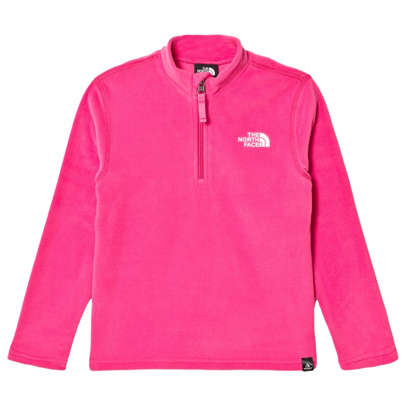 Läs mer om The North FacePink Glacier 1/4 Zip BaselayerXS (6 years)