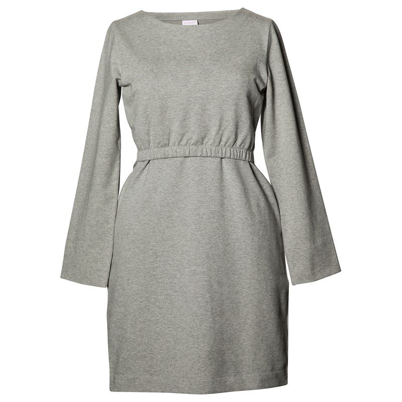 Läs mer om BoobNiki Dress Grey Melange