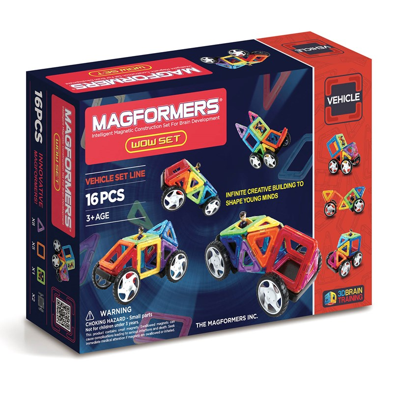 Magformers Fordon 16 bitar One Size