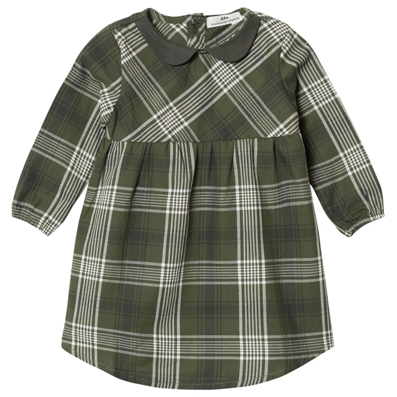 Läs mer om eBBe KidsAmanda Dress Bronze Green Check62 cm