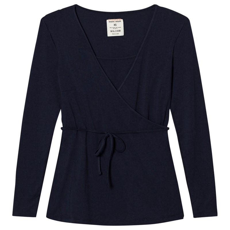 Läs mer om Mom2moMWrap Top Navy