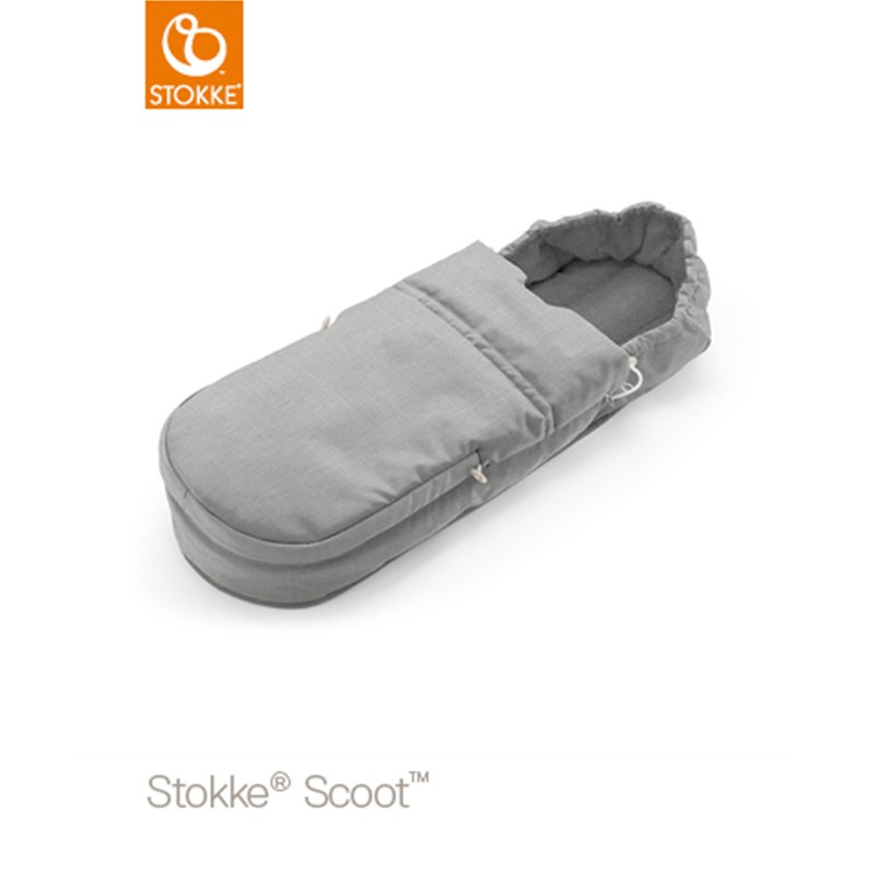 Läs mer om StokkeScoot Softbag Grey Melange