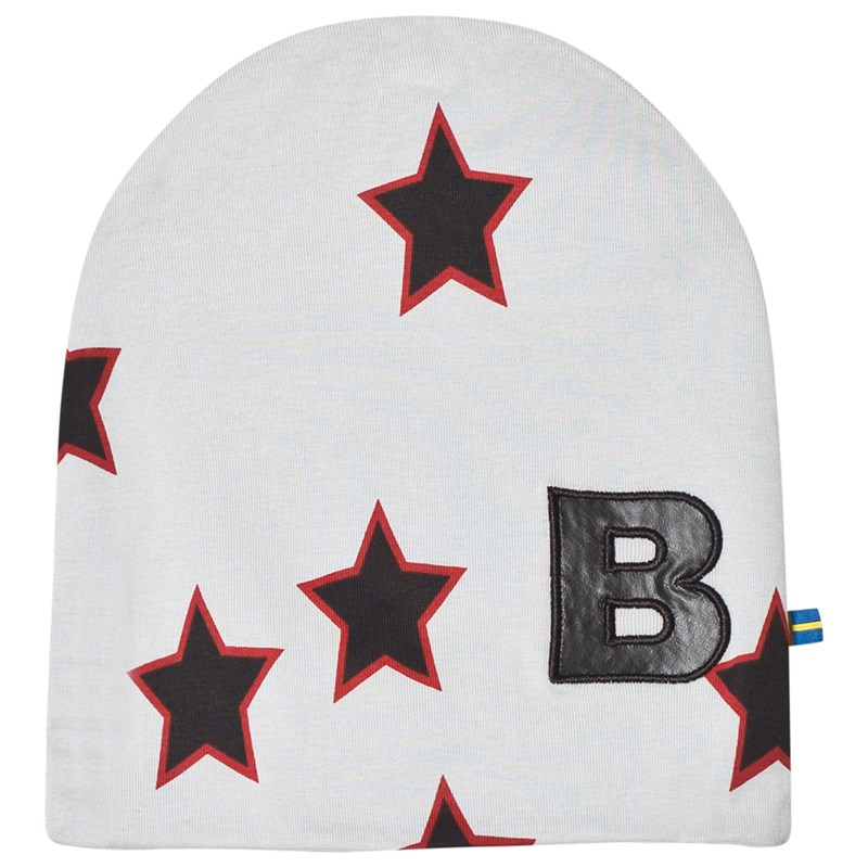 Läs mer om The BRANDHat Red Allstar With Black Leather B