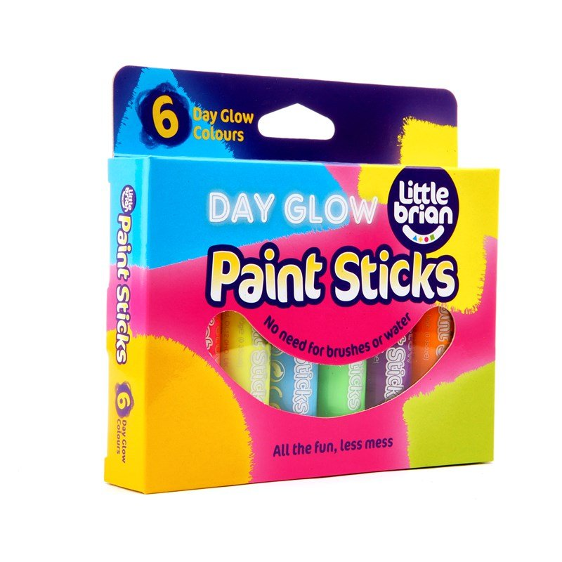 Läs mer om Play AWPaint Sticks, Kritor, Day Glow 6-pack