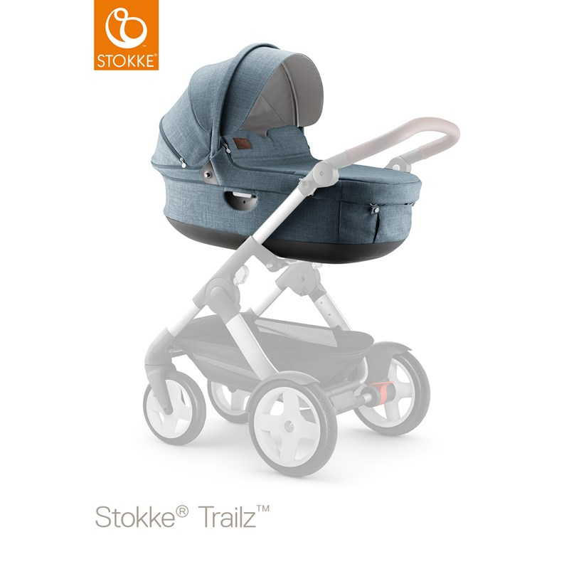 Stokke Trailz Nordic Blå Carry Cot One Size