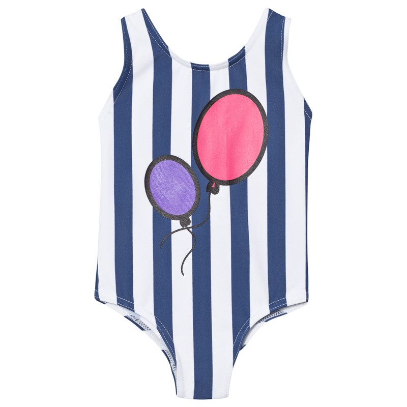 Läs mer om The BRANDHbd Swim Suit Blue Stripe68/74 cm