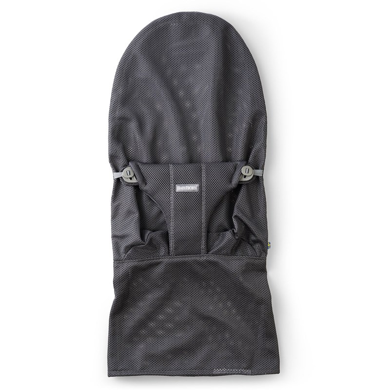 BabyBjörn Klädsel till Bouncer Bliss Mesh Anthracite Grey One Size
