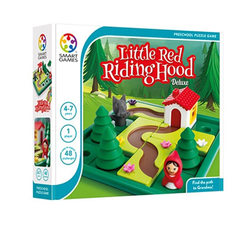 Smart Games Little Red Riding Hood Barnspel One Size