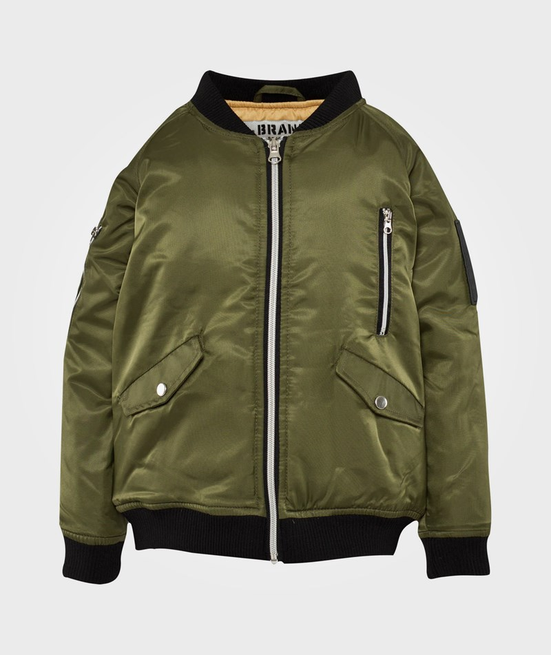 The BRAND Bomber Jacka Olive Green 92/98 cm