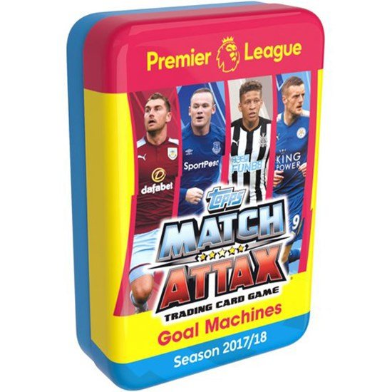 Play Premier League, Mega Tin, Goal Machines, 60 pcs