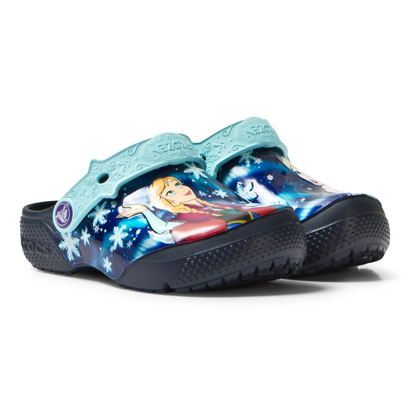 Crocs Crocs Fun Lab Frozen™ Clogs Marinblå C5 (EU 20-21)