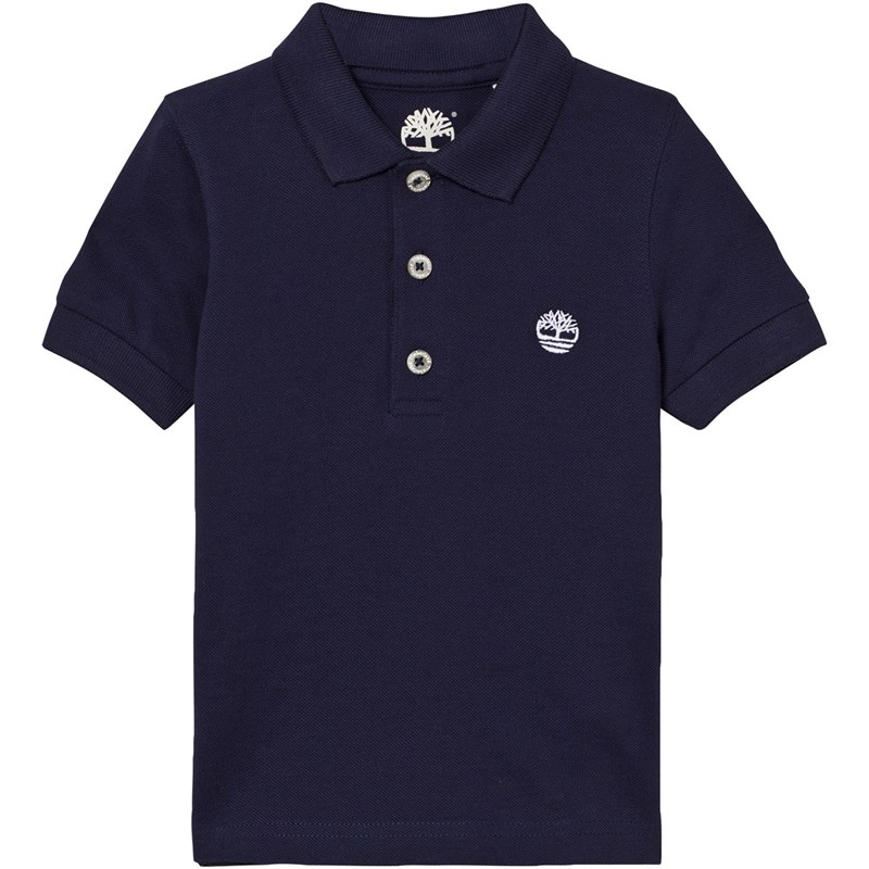 Timberland Classic Branded Polo Marinblå 8 years
