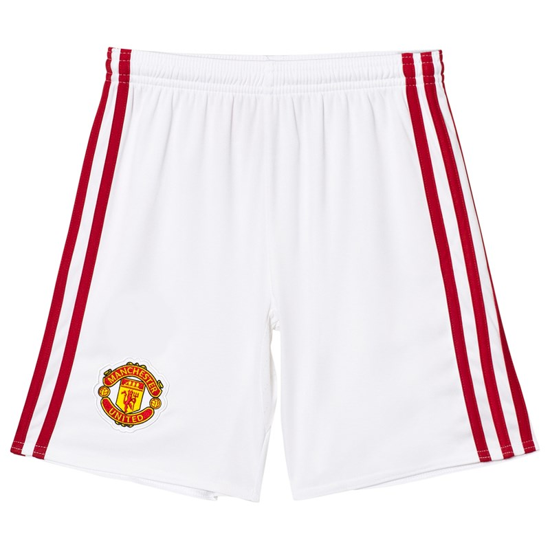 Manchester United Manchester United FC Home Jersey Shorts 13-14 years