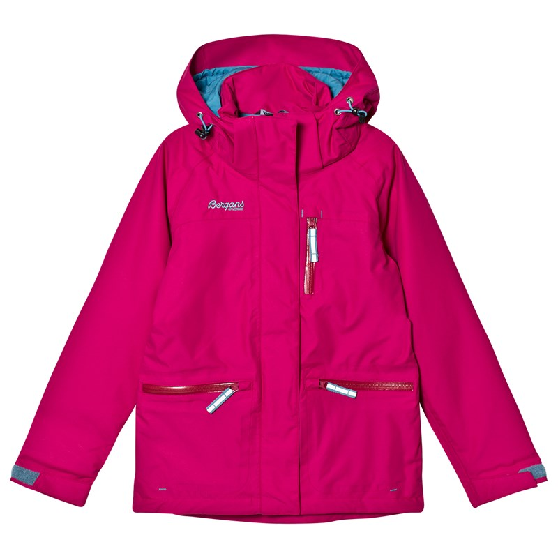 Bergans Skaljakke, Alme, Insulated, Youth, Cerise 128 cm