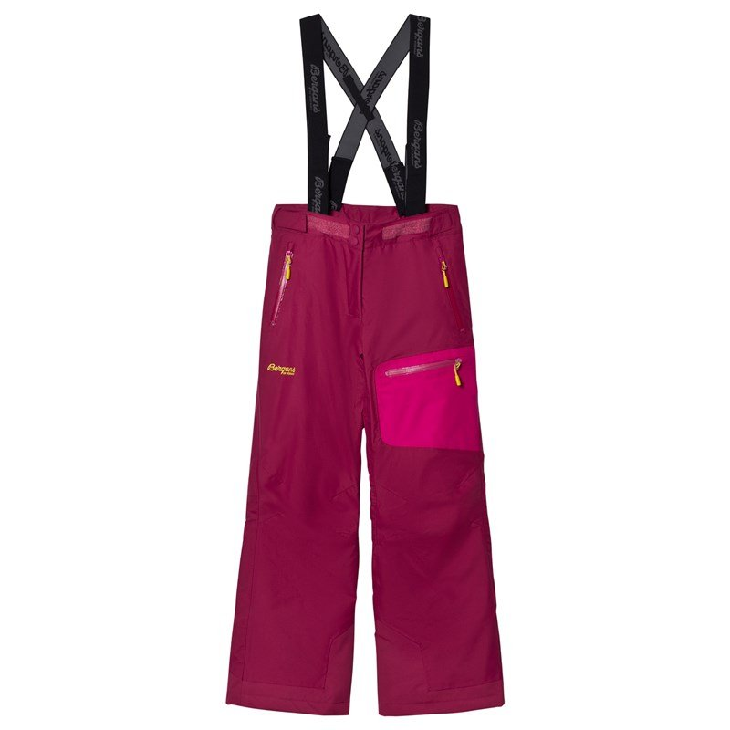 Bergans Skalbyxor Knyken Insulated Youth Dusty Cerise 164 cm