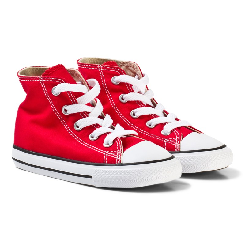 Converse Chuck Taylor All Star High Top Röd 31.5 (UK 13)