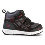 Viking Fritidsskor, Veme Vel Mid GORE-TEX®, Black/Red