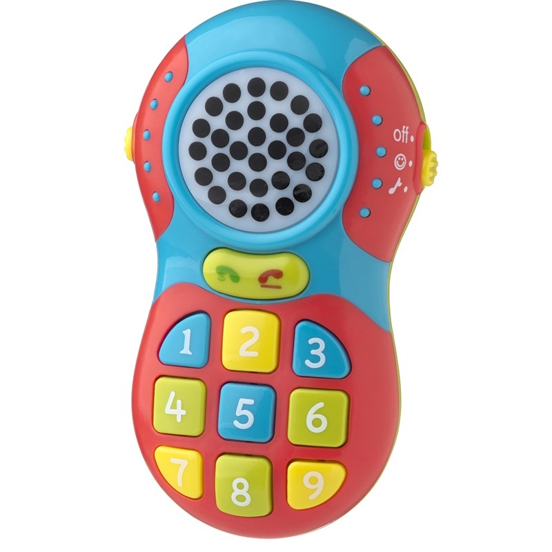 Playgro Jerry's Class Dial-A-Friend-Phone 6 months – 3 years