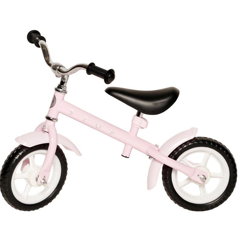 STOY Speed Springcykel 10 tum Rosa 24 months – 4 years